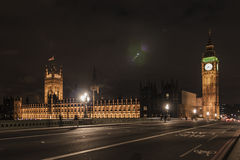 Big Ben & The Parliament. Big Ben is the nickname for the Great Bell of the clock at the north end of the Palace of Westminster in London, and often extended to Royalty Free Stock Photos