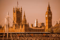 Big Ben and Parliament Stock Photography