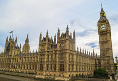 Big Ben and the Parliament Royalty Free Stock Photo