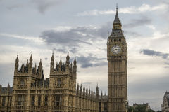 Big Ben and the Parliament Stock Photography