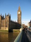 Big Ben and parliment Stock Photos