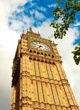 Big Ben pendant l'après-midi Images libres de droits