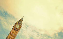 Big Ben. This photo contains an image of  Big Ben,  famous symbol of London and Great Britain Stock Image