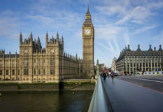 Big Ben & Portcullis House in Westminster, London, UK Stock Photos