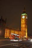 Big Ben przy noc Fotografia Stock