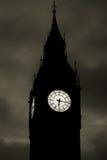 Big Ben przy puszkiem Zdjęcia Stock
