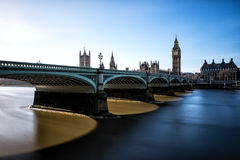 Big Ben przy Westminister w Londyn obrazy royalty free