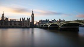 Big Ben przy Westminister w Londyn zdjęcie royalty free