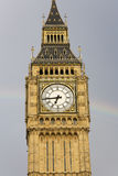 Big Ben with Rainbow Royalty Free Stock Images