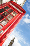 Big ben and red phone cabine Royalty Free Stock Photo