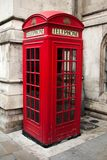 Big ben and red phone cabine Royalty Free Stock Photography