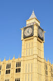 Big Ben. Replica of Big Ben - isolated on a blue skyline background Stock Photos