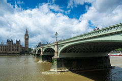 Big ben and the River Thames Stock Photography