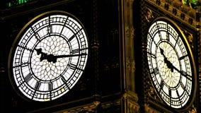Big Ben & x27; s klokken Royalty-vrije Stock Foto's