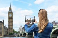 Big Ben on the screen Royalty Free Stock Photos