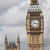 Big Ben seen from South Bank Royalty Free Stock Photography