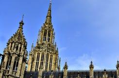 Big Ben - slott av Westminster Arkivfoton
