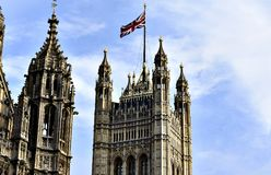 Big Ben - slott av Westminster Arkivfoto