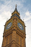 Big Ben in spring. Big Ben in the heart of London on a wonderful sunny day Royalty Free Stock Images