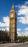 Big Ben / St Stephen's Tower. St Stephen's Tower (commonly called Big Ben) from the Houses of Parliament in London stock photography