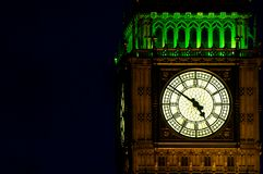 Big Ben (St Stephen's Tower) by night Stock Photo