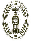 Big Ben stamp Royalty Free Stock Photos