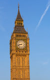 Big Ben in the summer. The Big Ben Clock Tower in the summer Stock Photography