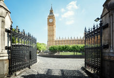 Big Ben in sunny day, London Stock Image