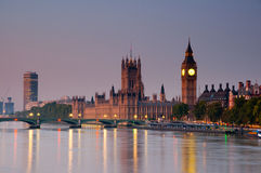 Big Ben by sunrise Stock Photo