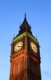 Big Ben at sunset, London. Stock Image