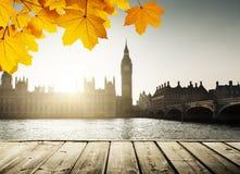 Big Ben at sunset, London, UK royalty free stock image