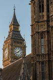 Big Ben during Sunset Royalty Free Stock Photography