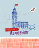 Big Ben - symbol of London Royalty Free Stock Photos