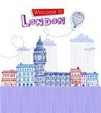 Big Ben - symbol of London Stock Photography