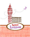 Big Ben - symbol of London Royalty Free Stock Images