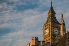 Big Ben tower Stock Photos