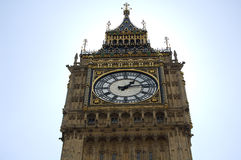The Big Ben Tower. In the Houses of Parliament, London Stock Images