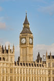 Big Ben tower clock at London, England Stock Photography