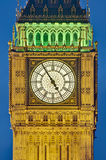 Big Ben tower clock at London, England Stock Images
