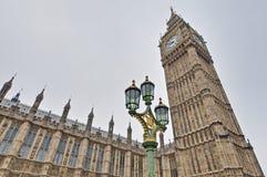 Big Ben tower clock at London, England Stock Images