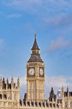 Big Ben tower clock at London, England Royalty Free Stock Photo