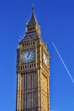 Big Ben Tower Houses Parliament Westminster London England Royalty Free Stock Images