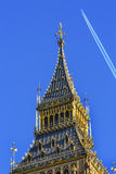 Big Ben Tower Houses of Parliament Westminster London England Stock Images