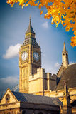 Big Ben. Tower in London Royalty Free Stock Images