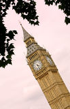 Big Ben tower - London Stock Photo