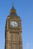 Big Ben Tower in London. Big Ben Tower London bathed in sunlight Stock Photography
