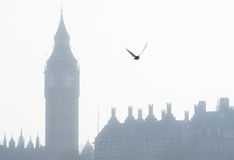 Big Ben tower in London Stock Images