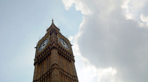 Big Ben Tower London Stock Image