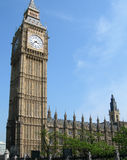 Big Ben tower in London, UK Royalty Free Stock Photos