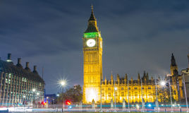 The Big Ben tower, London, United Kingdom. Royalty Free Stock Image